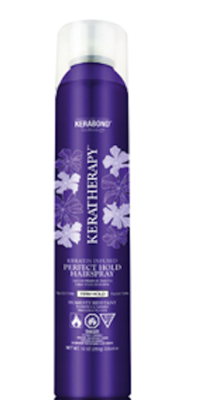 KERATHERAPY INFUSED PERFECT HOLD HAIRSPRAY