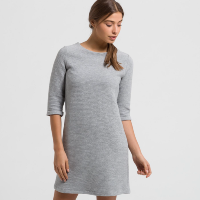 ARMEDANGELS SEVERINE DRESS GREY