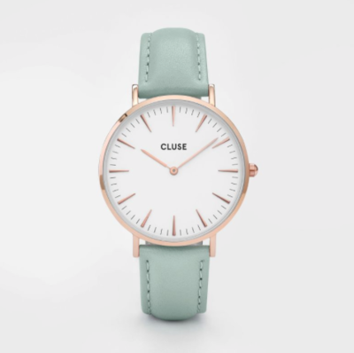 CLUSE LA BOHÈME ROSE GOLD WHITE/PASTEL MINT