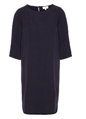 FIANNA DRESS MADE OF TENCEL NAVY